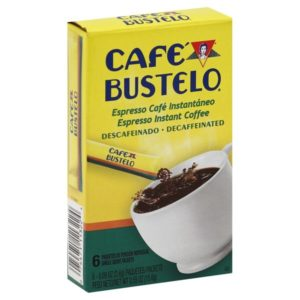 Café Bustelo Coffee Espresso Decaffeinated Instant Coffee