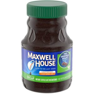 Maxwell House Instant Decaf Coffee