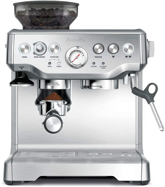 Breville the Barista Express Espresso Machine