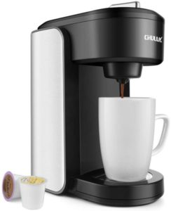CHULUX Single Serve Coffee Maker with Gradient Water Reservoir