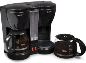 CucinaPro Double Coffee Brewer Station