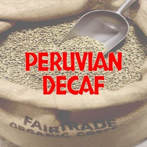Deans Beans Organic Coffee Company Peruvian Green Decaf Coffee
