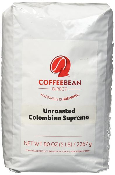 Green Unroasted Colombian Supremo
