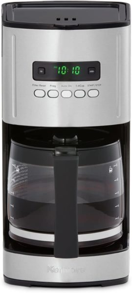 Kenmore 40704 12 Cup Programmable Coffee Maker