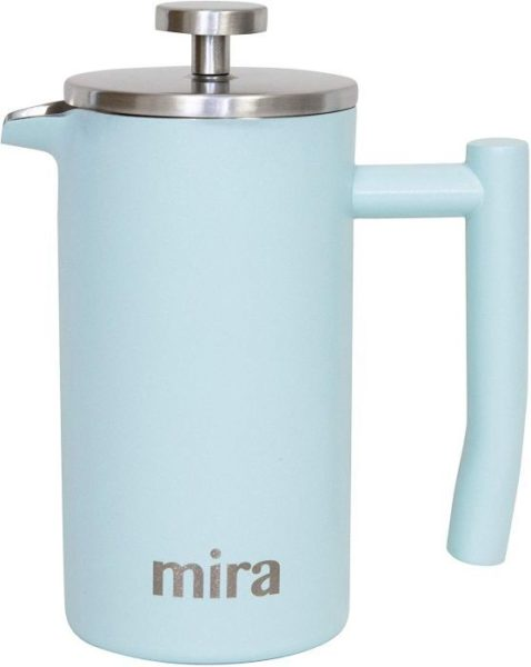 MIRA 12 oz Stainless Steel French Press Coffee Maker