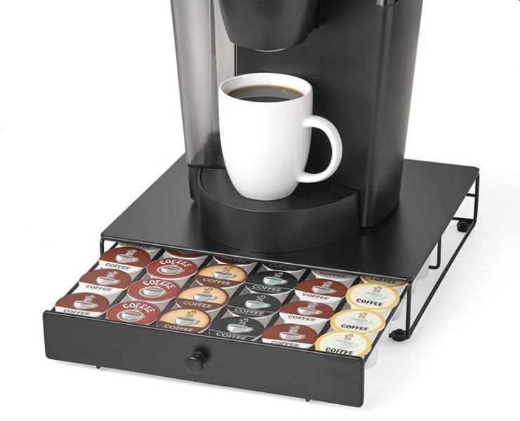 Nifty Under the Brewer Storage Drawer for K-Cup Packs