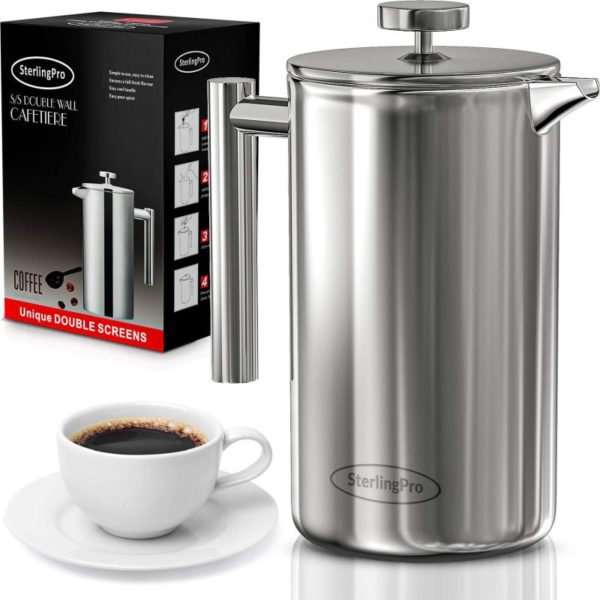 SterlingPro French Press Coffee Maker