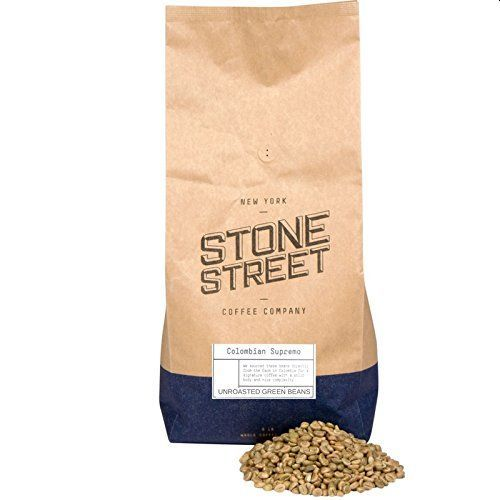 Stone Street Colombian Supremo Unroasted Green Raw Coffee Beans