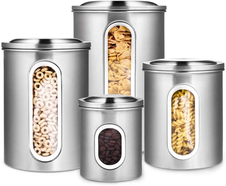 Deppon 4-Piece Canister Set