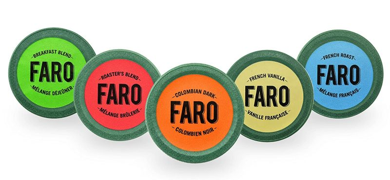 Faro Roasting House Single Serve Compostable Variety Pack