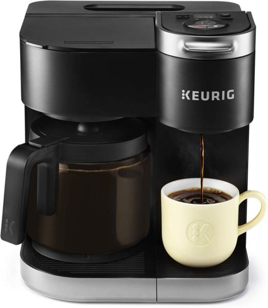 Keurig K-Duo Coffee Maker Single Serve and 12-Cup Carafe Drip Coffee Brewer