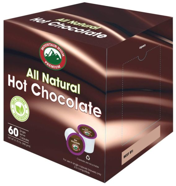 Mountain High All Natural Hot Chocolate K Cups