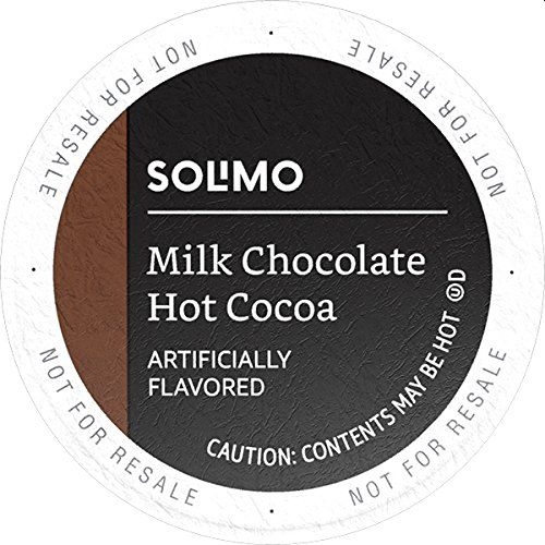 Solimo Hot Cocoa Pods, Milk Chocolate Flavored