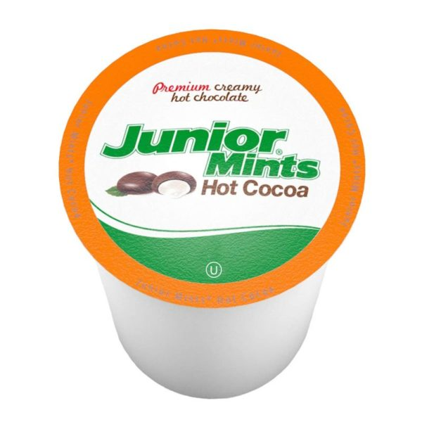 Tootsie Roll Junior Mints Chocolate Mint Hot Cocoa Pods