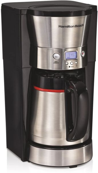 Hamilton Beach 46896A 10 Cup Coffee Maker with Vacuum Stainless Thermal Carafe