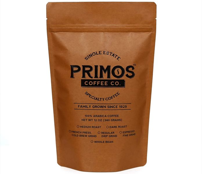 Primos Coffee Co French Press Specialty Coffee