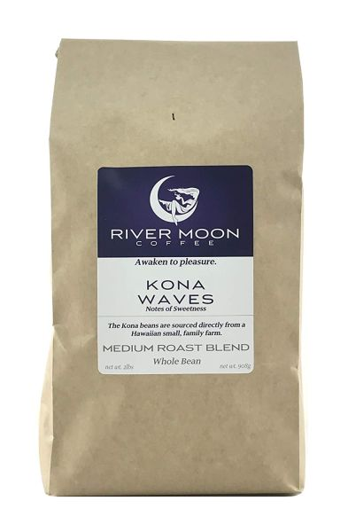 River Moon Coffee Kona Coffee Beans
