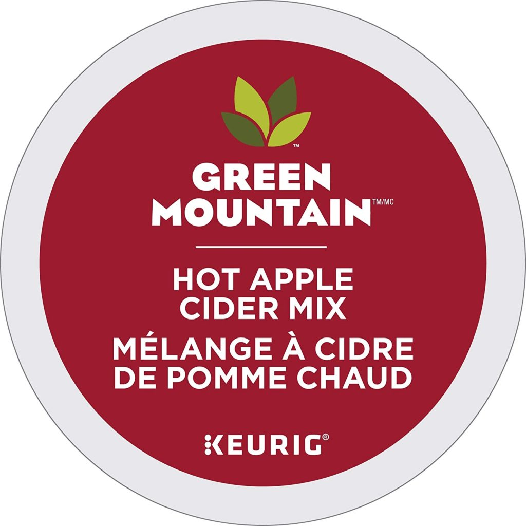 Green Mountain Hot Apple Cider K-Cup Pods