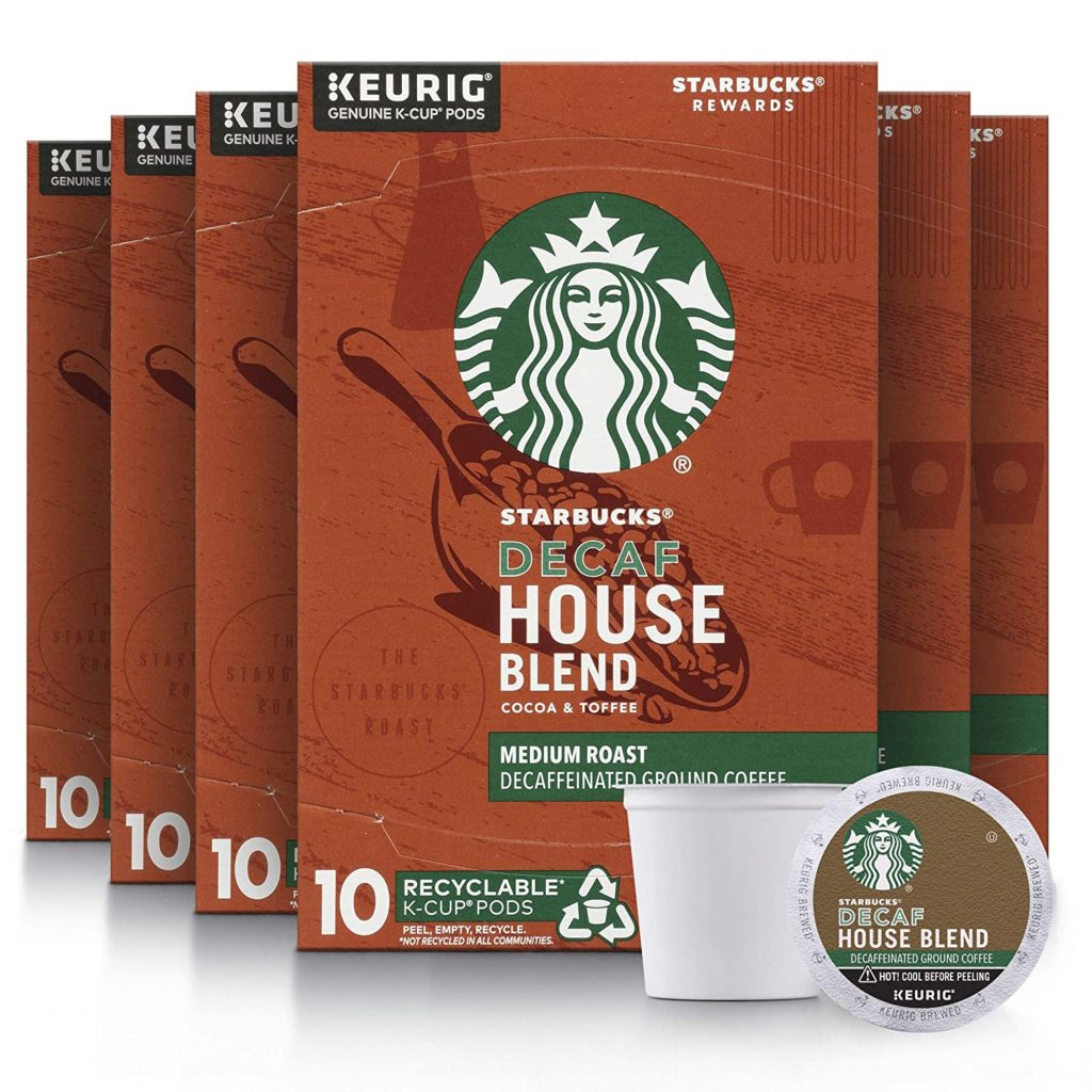 Starbucks Decaffeinated Cappuccino K-Cups