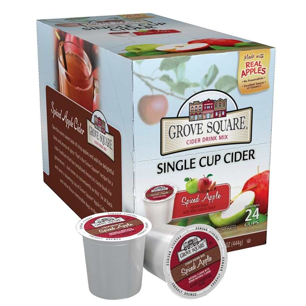 Grove Square Spiced Apple Cider Single Serve Cups
