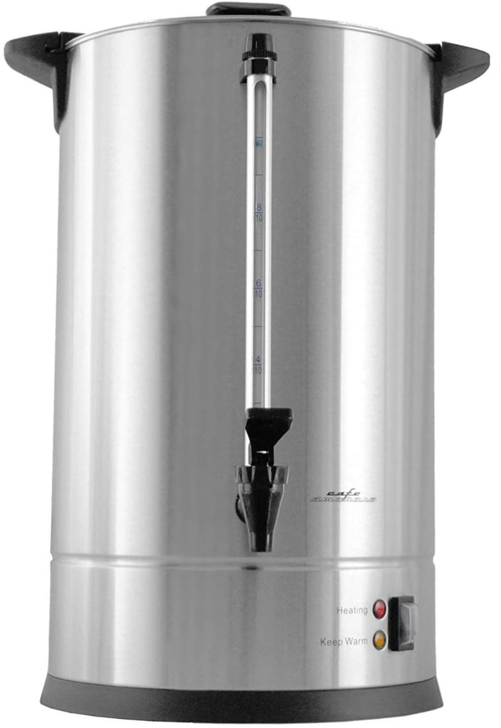 Cafe Amoroso Stainless Steel Coffee Maker