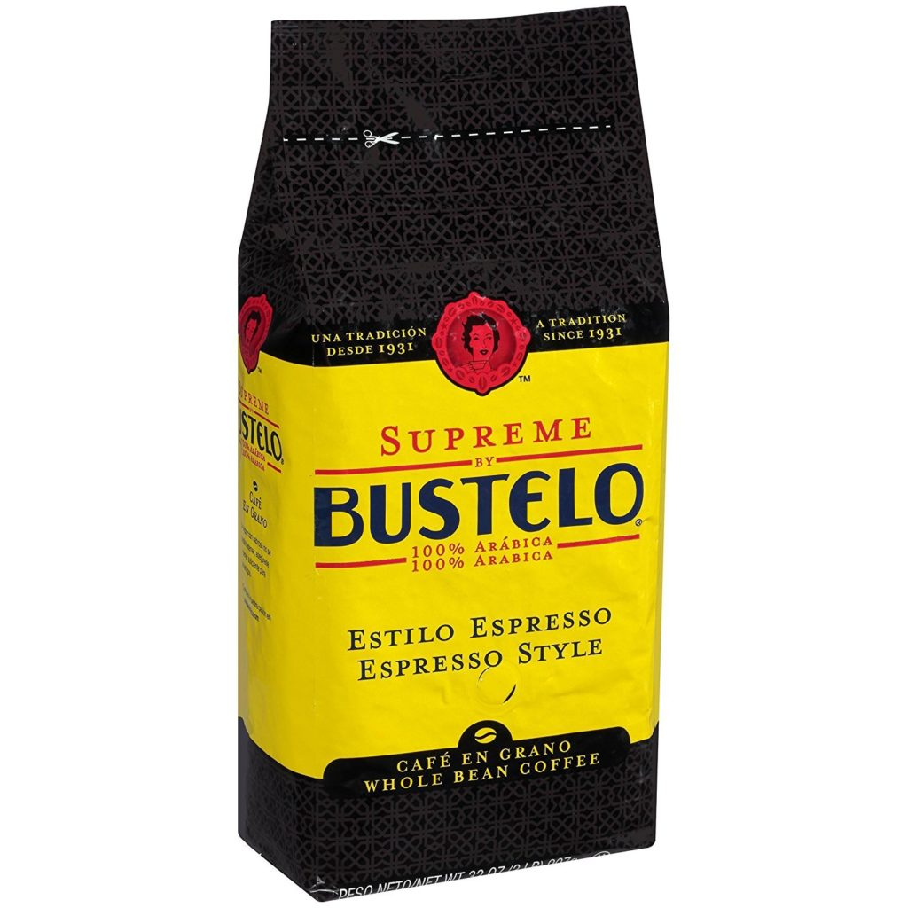 Supreme By Bustelo Whole Bean Espresso Coffee