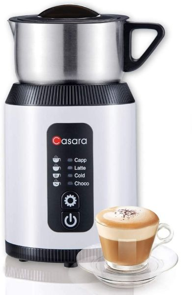 Casara Milk Frother Electric Milk Frother and Steamer