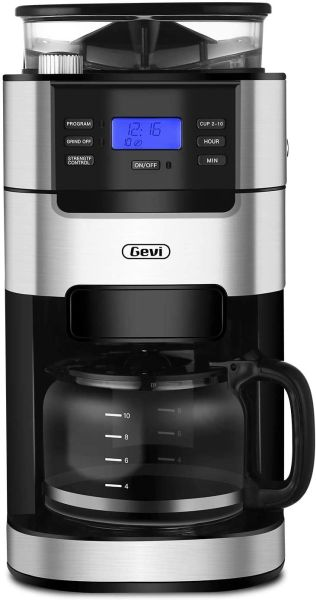 Barsetto Grind and Brew Automatic Coffee Machine