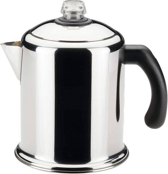 Farberware 50124 Classic Yosemite Stainless Steel Coffee Percolator