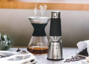brim Electric Handheld Burr Grinder