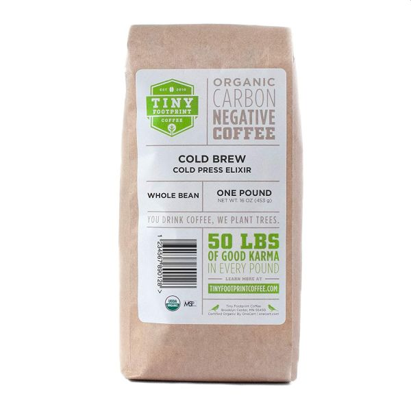 Tiny Footprint Coffee - Organic Cold Brew Whole Bean Coffee